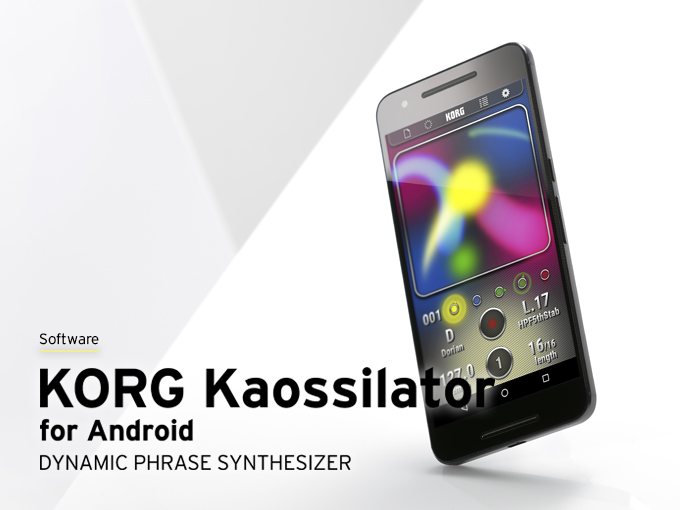 KORG Kaossilator for Android