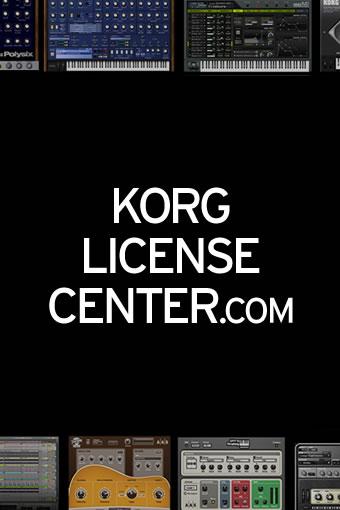 KORG LINENCE CENTER.COM