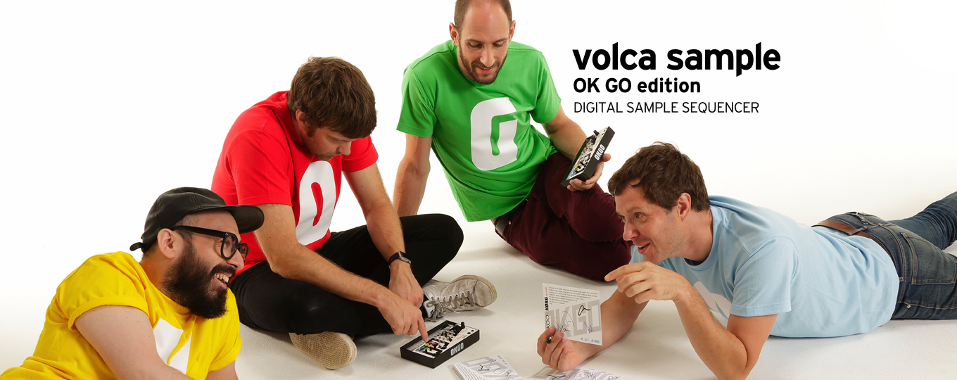 volca sample OK GO edition