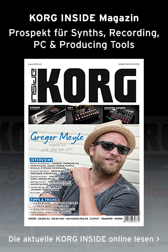 KORG INSIDE Magazin