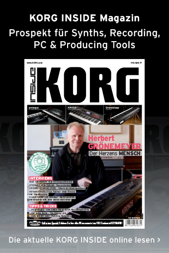 KORG INSIDE Magazin Volume 17