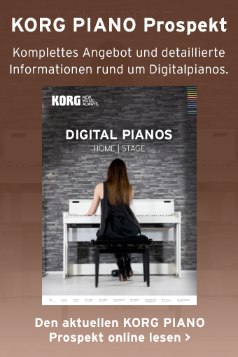 KORG Digitalpiano Prospekt