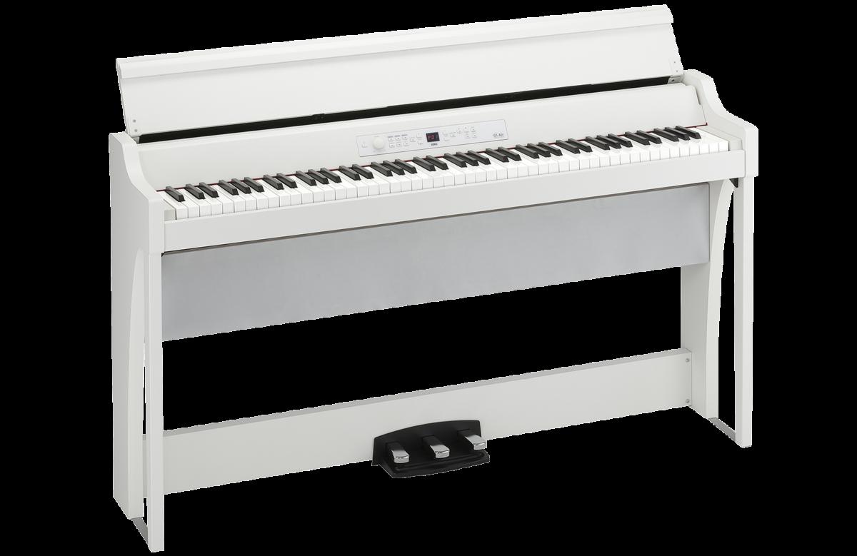 korg b1sp bk piano numerique noir + design de support et 3 positions de pedale