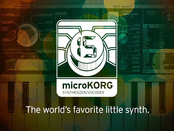 microKORG 15th
