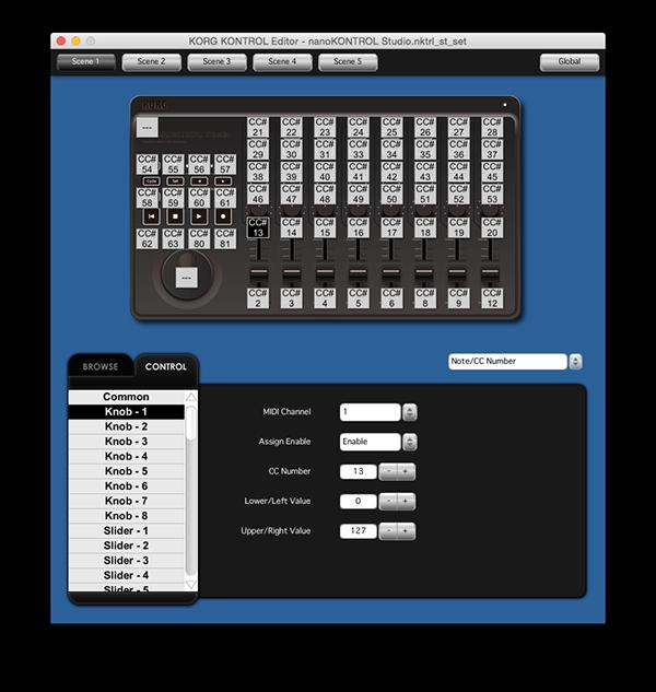 Korg kontrol editor download