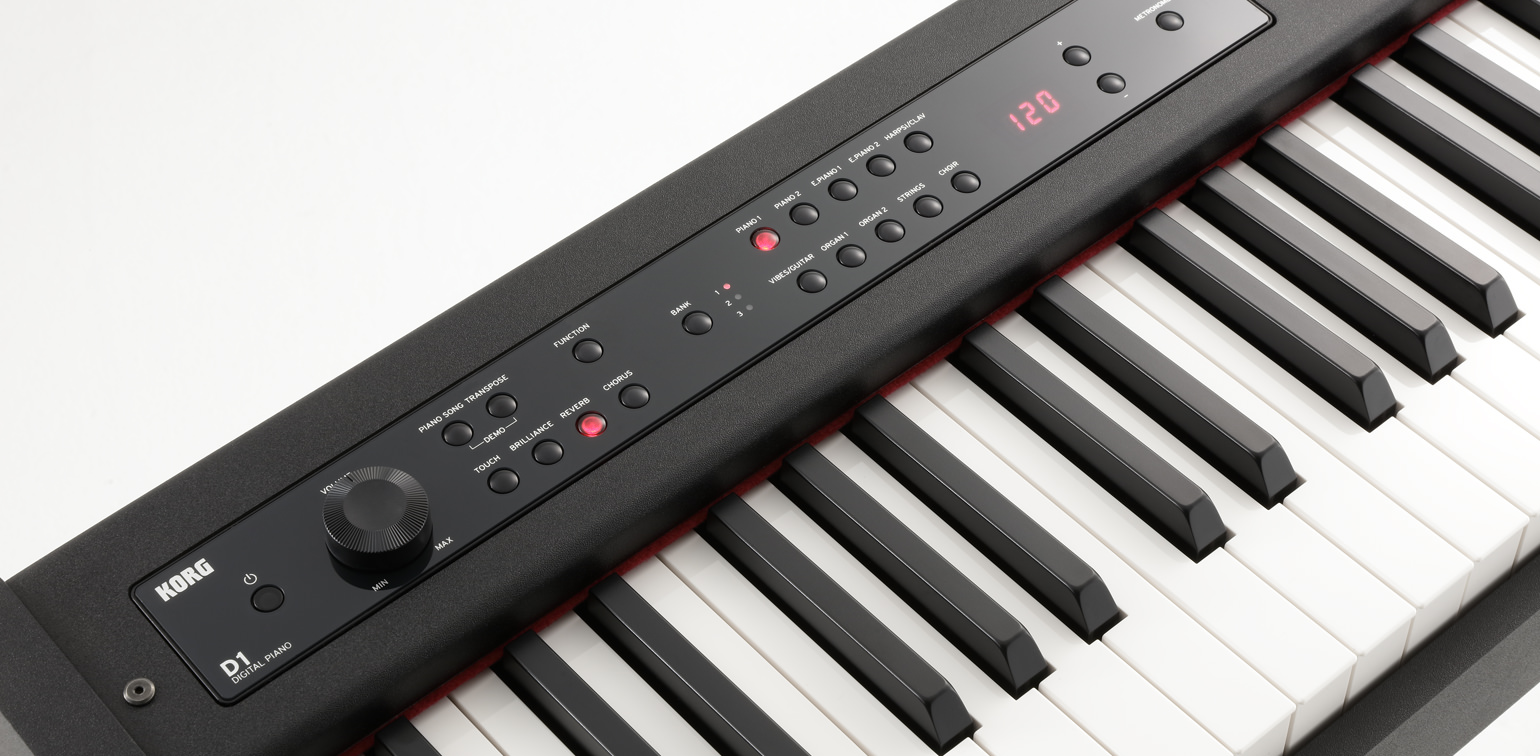 D1 digital piano korg italy for Software di piano professionale