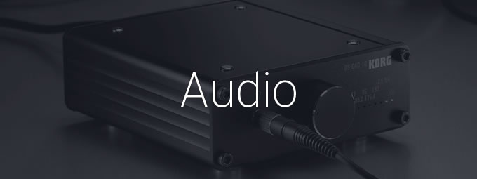 オーディオ(DS-DAC,AudioGate)
