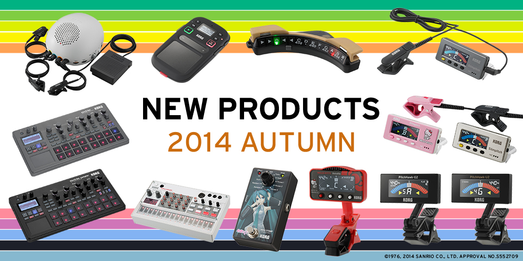 NEW PRODUCTS 2014 AUTUMN
