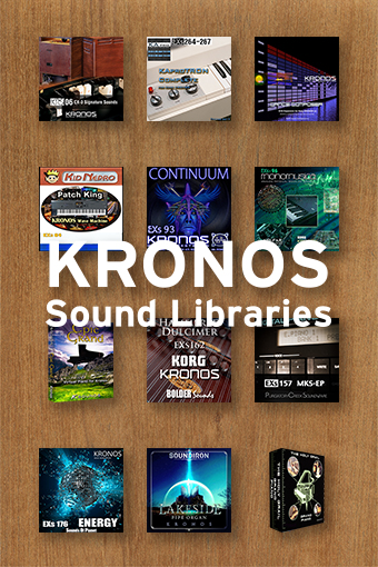 KRONOS Sound Libraries Banner