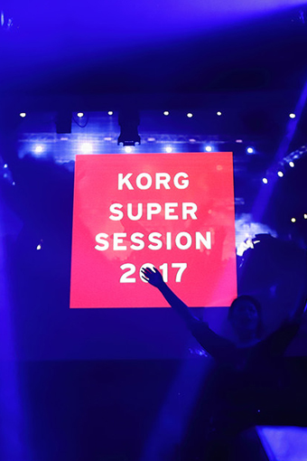 KORG SUPER SESSION 2017