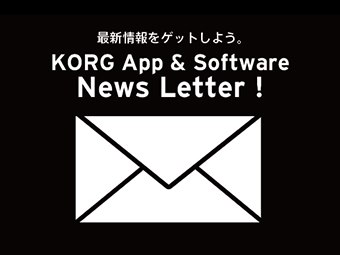 Korg App & Software News Letter