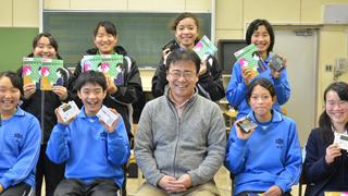 足立区立第十四中学校 吹奏楽部顧問 玉井長武 先生