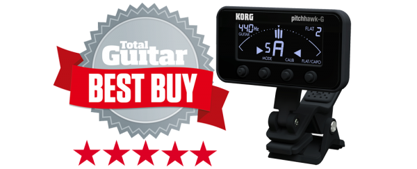 pitchHawk-G - Total Guitar Best Buy Award