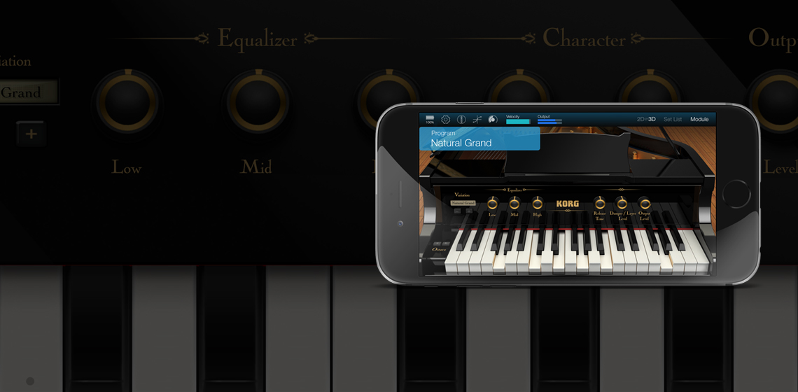 KORG Module Standard for iPhone