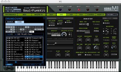 M1 Drum Kit