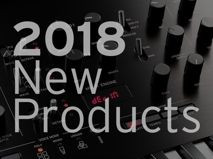 2018 NAMM Products