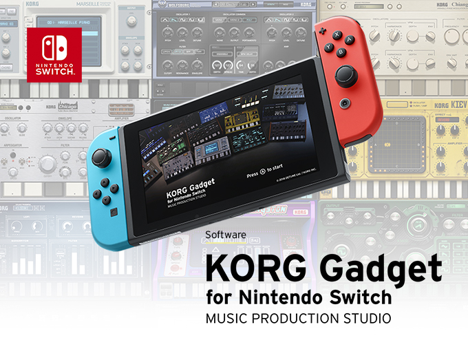 KORG Gadget for Nintendo Switch