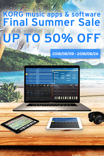 KORG music app & software - Final Summer Sale