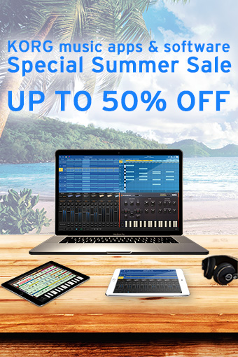 KORG music app & software - Special Summer Sale