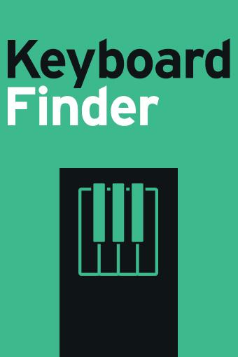KORG Keyboard Finder