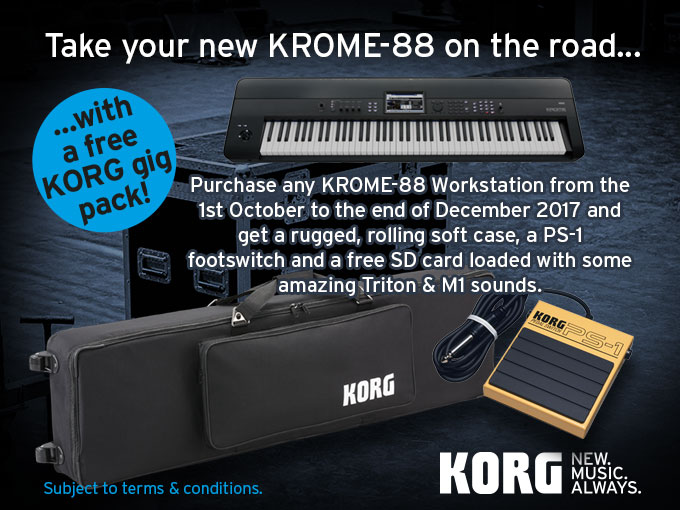 Free Gig Pack with KROME 88