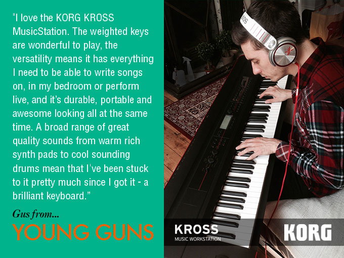 Young Guns using the KORG KROSS