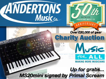 Andertons 50th Anniversary Charity Auction