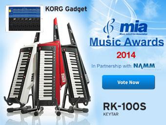 Vote for KORG in the MIA Awards 2014