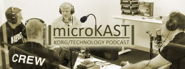 KORG microKAST Podcast