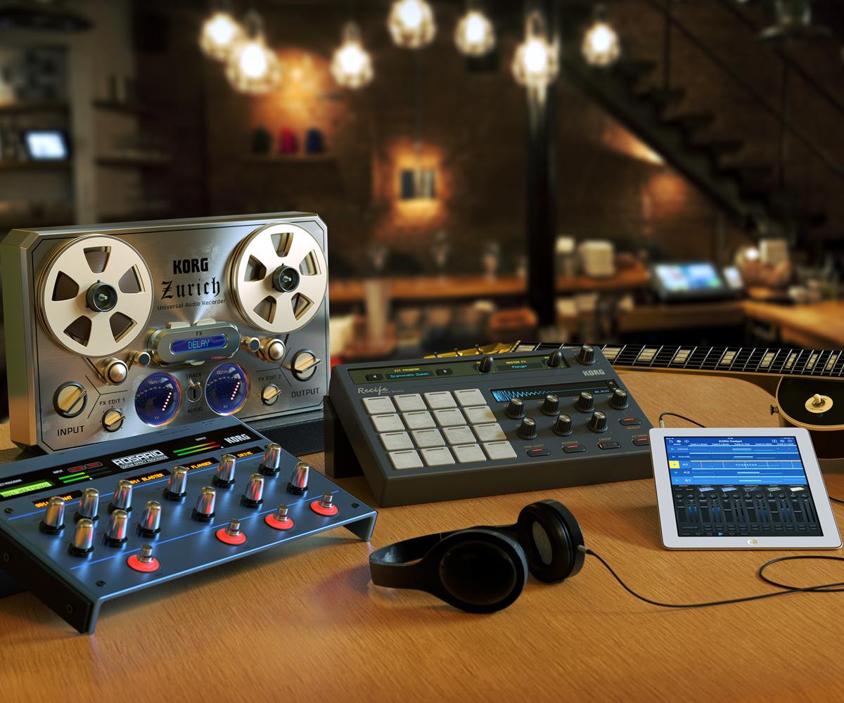 For IOS KORG Gadget MUSIC PRODUCTION SOFTWARE KORG