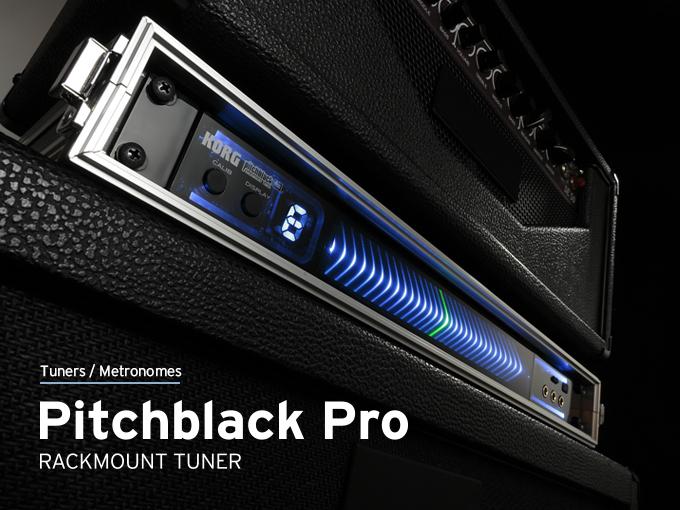 Pitchblack Pro Rackmount Tuner Korg U K