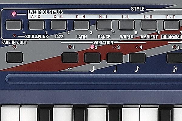 Korg Liverpool Arranger Styles