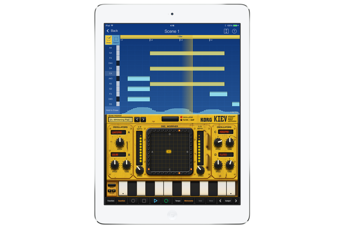 KORG Gadget for iPad
