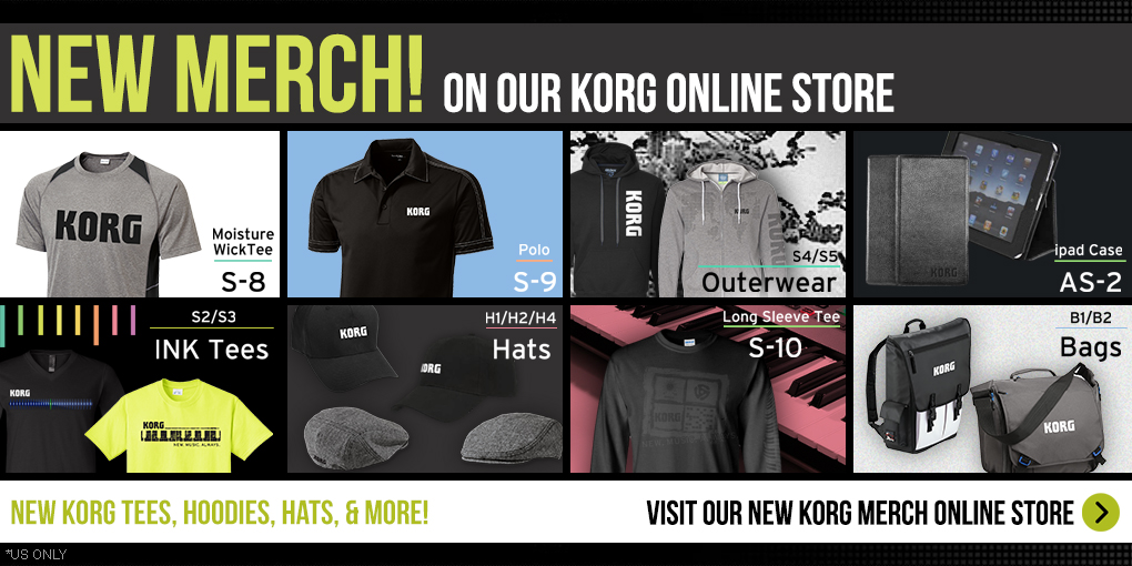 New Korg Merch Site