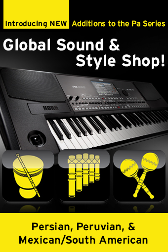 NEW Additions to the Pa Sound & Style Shop