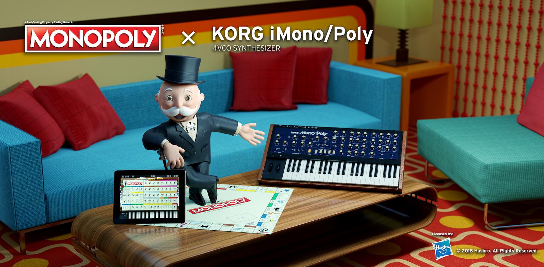 MONOPOLY x KORG iMono/Poly