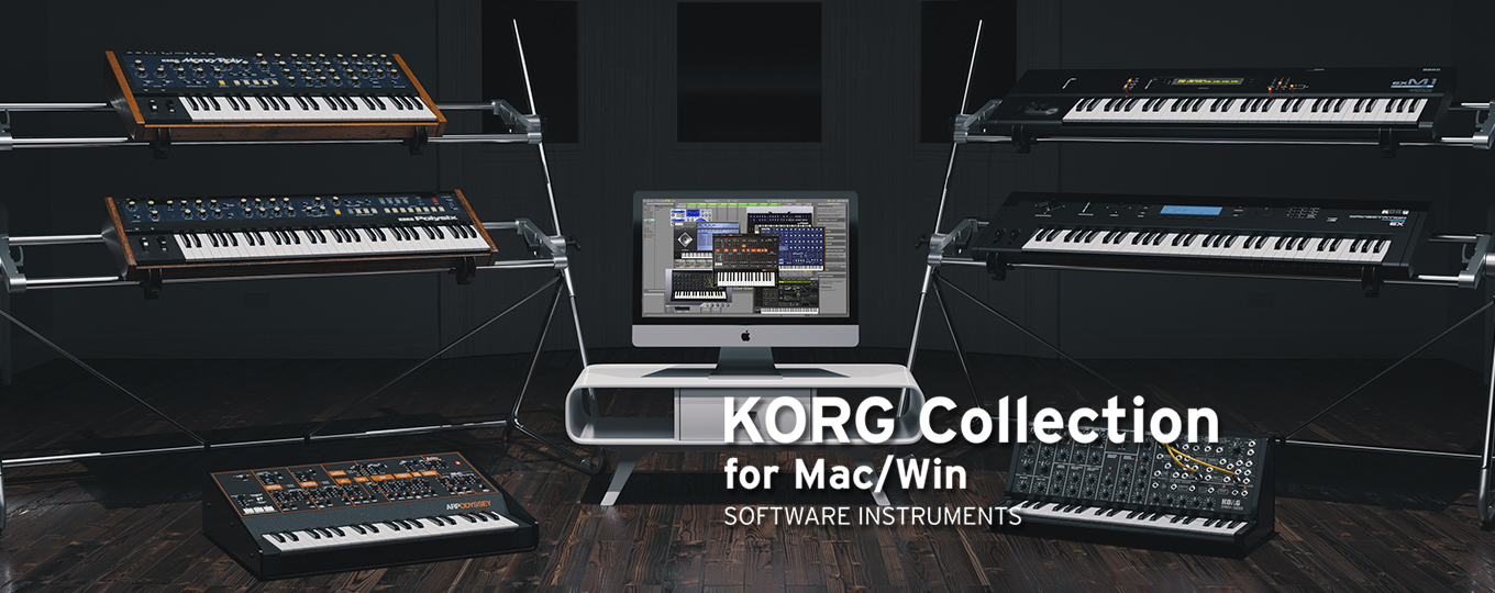 KORG Collection for MacWin