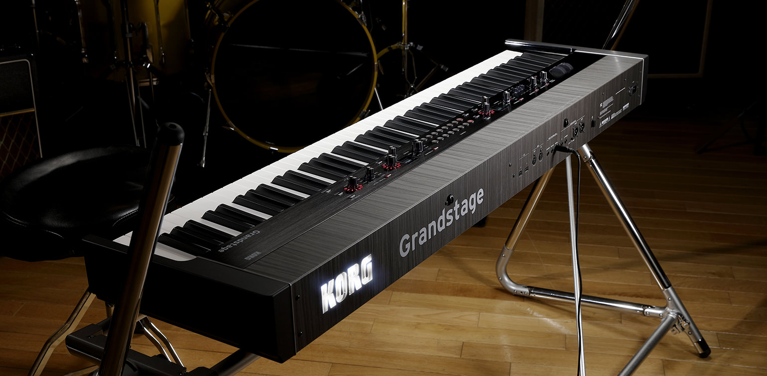 Keyboard Stand Designs : Grandstage stage piano korg usa