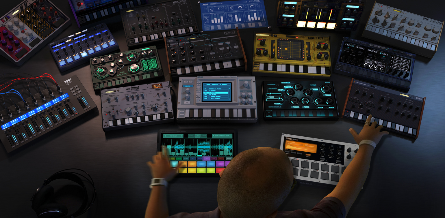 Gadget Collection KORG Gadget MUSIC PRODUCTION