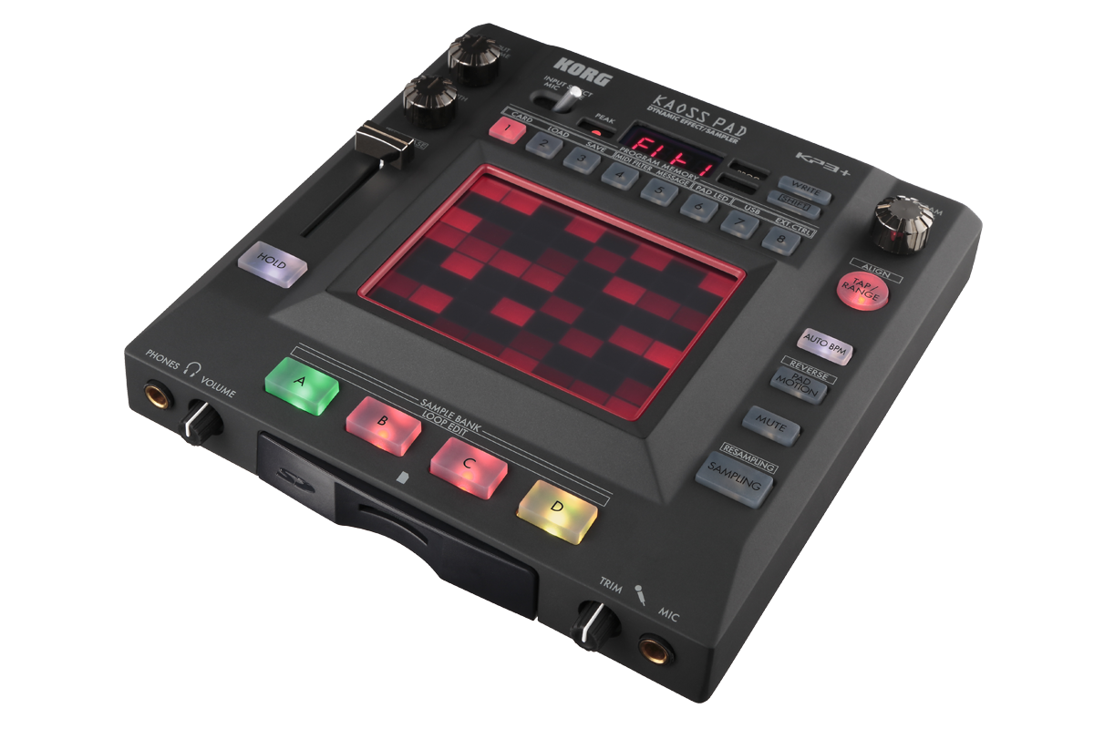 Kaoss Pad Kp3 Dynamic Effect Sampler Korg Usa