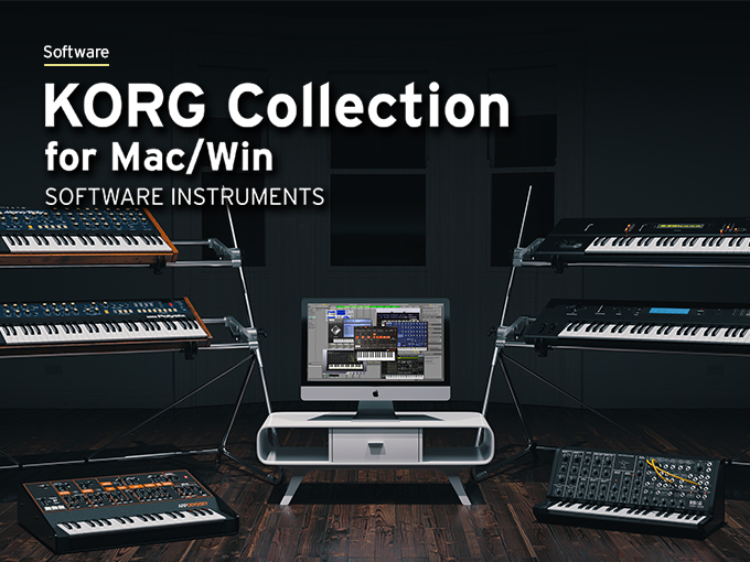 KORG Collection for Mac/Win