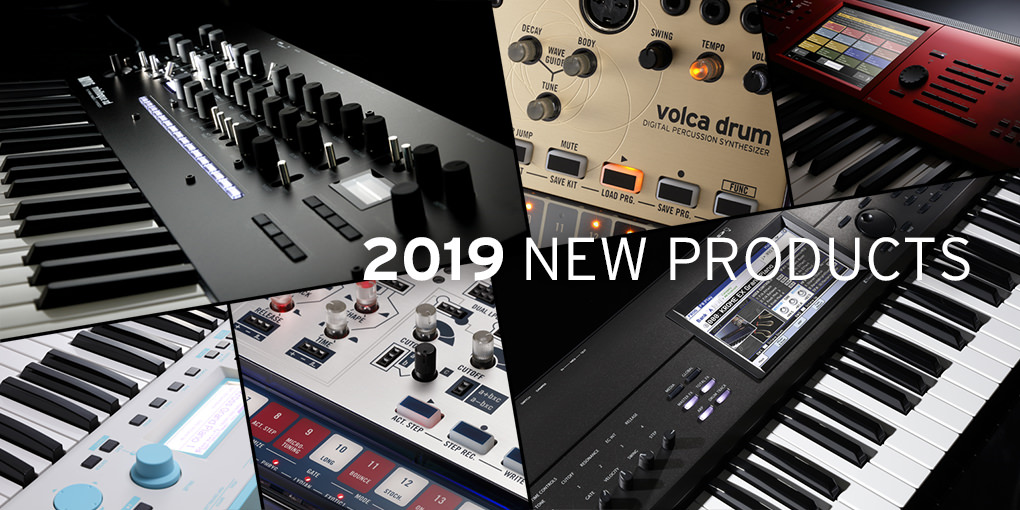 2019 NAMM PRODUCTS