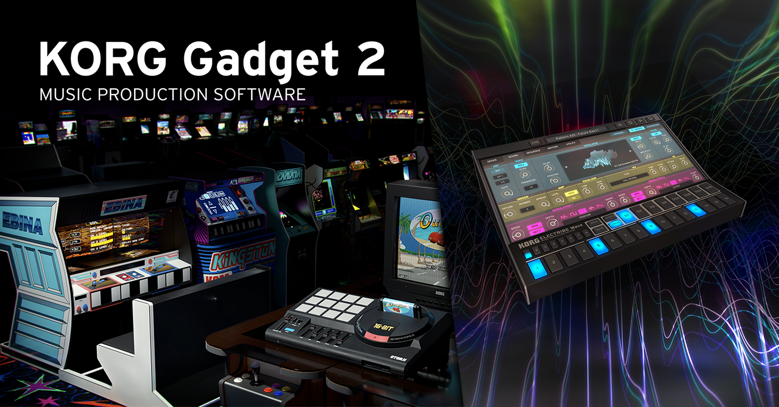 News | SEGA, TAITO, KORG : A major update of KORG Gadget 2