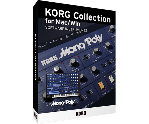 KORG Collection - Mono/Poly