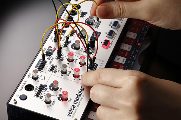 KORG VOLCA Modular Micro-modular Synth With Multi Patch Points