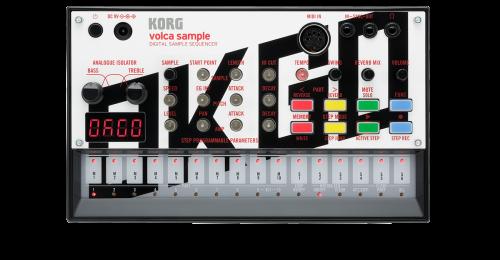 KORG VOLCA SAMPLE Sequencer Multi Touch Campionatore Midi