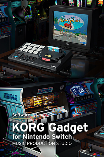KORG Gadget for Nintendo Switch v3.0