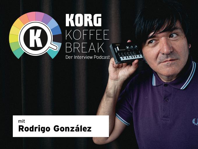 Zur KORG KOFFEE BREAK Podcast Folge 3 mit Rodrigo González