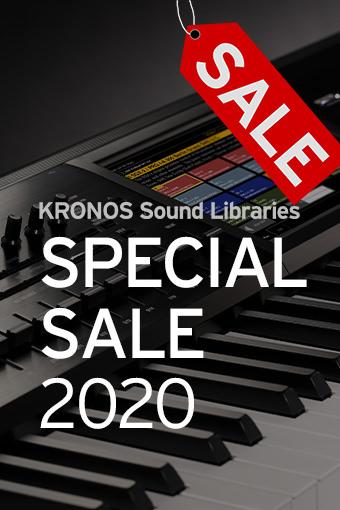 KRONOS Sound Libraries 2020 Special Sale