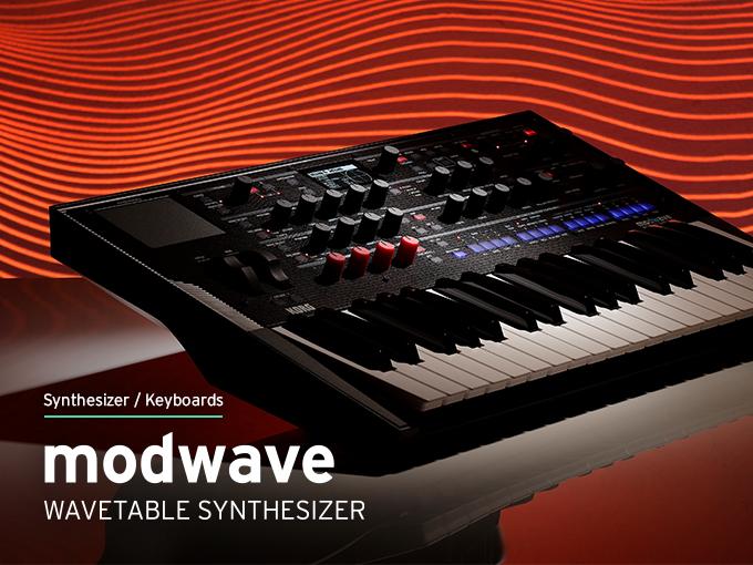 korg, modwave, wavetable synthesizer